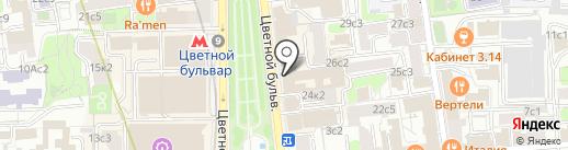МИЭЛЬ на карте Москвы