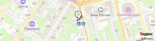 ЗаОдно на карте Тулы