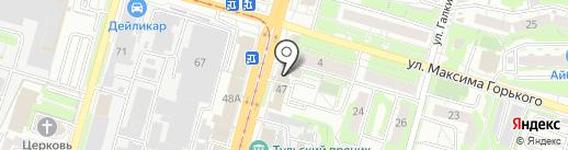 Фреш Сервис на карте Тулы