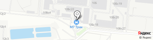 LuxLine на карте Москвы