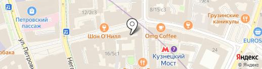 Посольство Республики Молдова в РФ на карте Москвы
