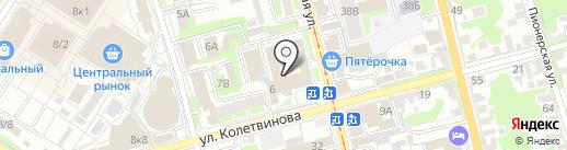 Тульская телефонная справочная по товарам и услугам на карте Тулы