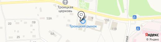 Магазин женской одежды на карте Троицкого