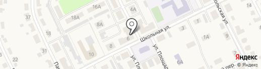 Продуктовый магазин на карте Советска