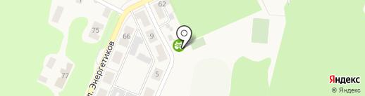 Стадион им. Е.И. Холодкова, МКУ на карте Советска