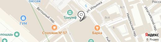 Солга на карте Москвы
