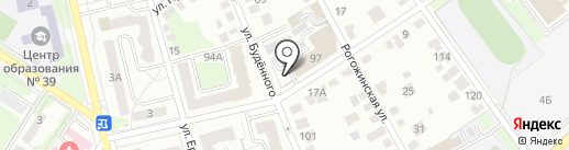 Импульс на карте Тулы