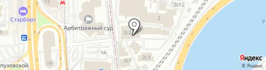 Инконсалт на карте Москвы