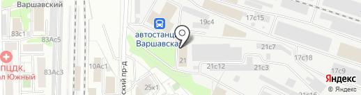 ИРБиС на карте Москвы