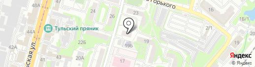 Пивной маг на карте Тулы