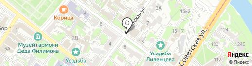 АЛЬБИОН на карте Тулы