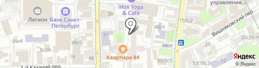 Гоар на карте Москвы