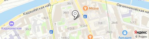 E-Xecutive на карте Москвы