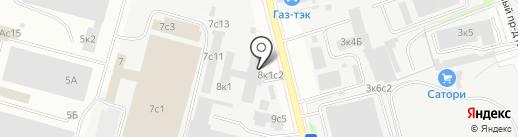 Wink на карте Москвы