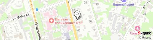 Арбат на карте Тулы