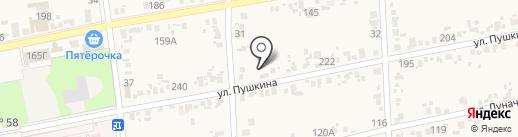 Екатерина на карте Варениковской