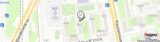 ТарлетО`К на карте Москвы