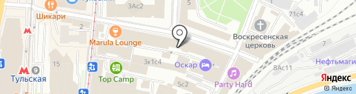 АРМОЛИТ на карте Москвы