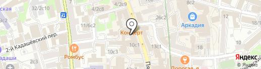 Палатин-А на карте Москвы