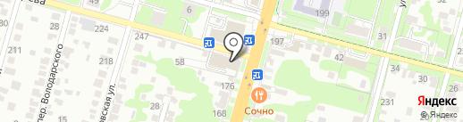 Pizza Express на карте Тулы