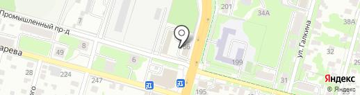 Автолига на карте Тулы