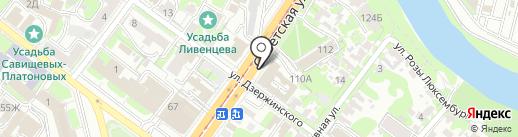 Центр автоматизированной фиксации административных правонарушений в области дорожного движения на карте Тулы