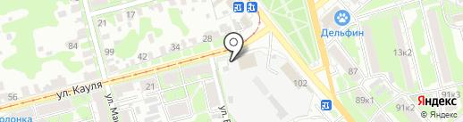 ТУЛГОРЭЛЕКТРОТРАНС, МУП на карте Тулы