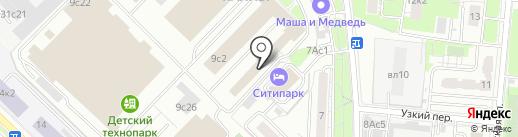Культура Развития на карте Москвы