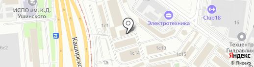Гараж Трейд на карте Москвы