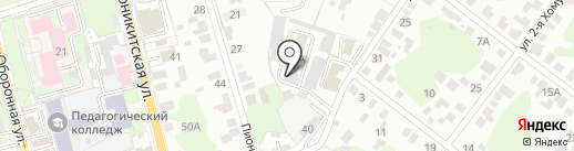 Строительное управление71 на карте Тулы