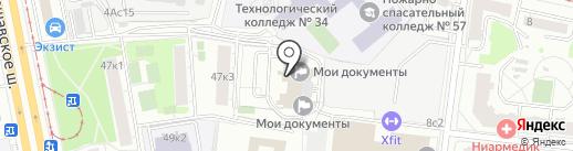 Новая парикмахерская №1 на карте Москвы