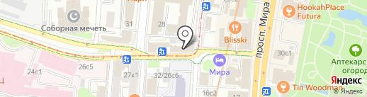 Спортивная федерация пожарных и спасателей на карте Москвы