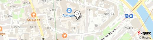 Yak house на карте Москвы