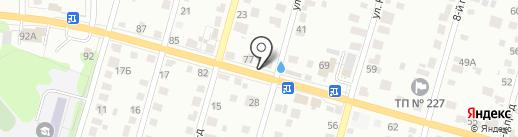 Магазин автозапчастей для иномарок на карте Тулы