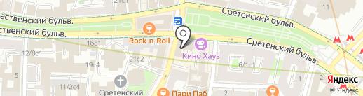 ЮВМ на карте Москвы
