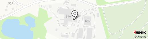 Темп на карте Тулы