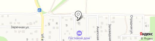 Лоза на карте Новороссийска