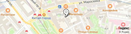 Аксиомус на карте Москвы
