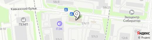 КАМ ТРЕЙД на карте Москвы