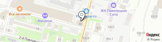 Пионер на карте Москвы