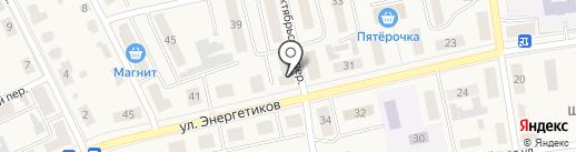 Канцмастер на карте Советска