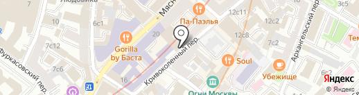 Вместе с мамой на карте Москвы