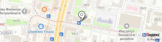 Банкомат, Райффайзенбанк на карте Москвы