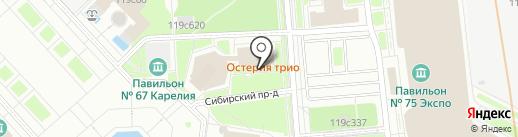 Red Crab на карте Москвы