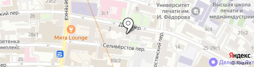 Charme на карте Москвы