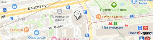 Statoil на карте Москвы