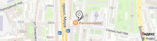 Константа Реал-Эстейт на карте Москвы