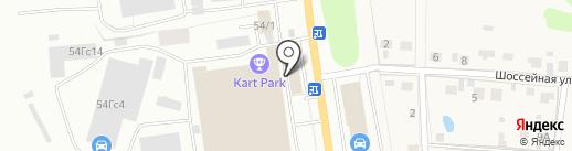 Векторком на карте Тулы