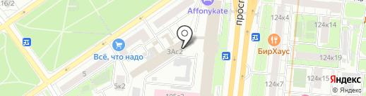 Московская типография №2 на карте Москвы