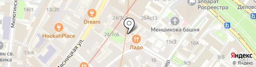 ЛЕКС ГРУПП на карте Москвы